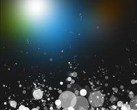 света абстрактной предпосылки яркие цветастые Стоковая Фотография RF