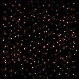 света абстрактной предпосылки золотистые Стоковые Изображения RF