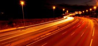 Света автомобиля Стоковая Фотография RF