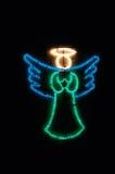 Света ангела рождества Стоковые Изображения RF