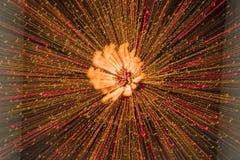 света взрыва Стоковые Изображения