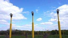 Света взлётно-посадочная дорожка манчестерского аэропорта видеоматериал