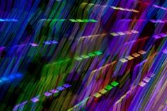 Света в движении стоковое фото