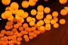 Света в музее науки & технологии Земл-Шанхая радуги детей Стоковое Фото