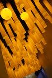 Света в музее науки & технологии Земл-Шанхая радуги детей Стоковые Изображения