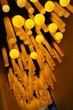Света в музее науки & технологии Земл-Шанхая радуги детей Стоковое Изображение