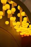 Света в музее науки & технологии Земл-Шанхая радуги детей Стоковые Изображения RF