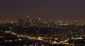света города ангелов Стоковое фото RF