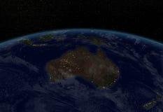 Света города - Австралия Стоковые Фото