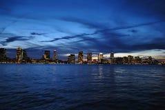 света города Стоковое Изображение RF