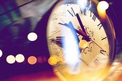 Света детали и пирофакела часов Стоковые Изображения
