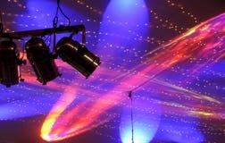 света диско Стоковые Изображения RF