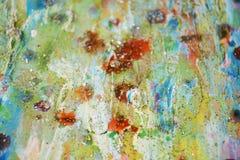 Света, желтая оранжевая пастельная абстрактная предпосылка Стоковые Фото