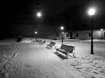 Света зимы стоковое фото rf