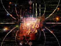 Света дизайна математики Стоковая Фотография