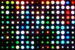света иллюстрации диско Стоковые Изображения RF