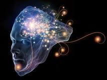 Света интеллекта Стоковая Фотография