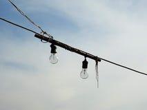 Света и электричество простые Стоковые Фотографии RF