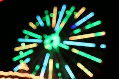 Света колеса Ferris стоковое фото rf