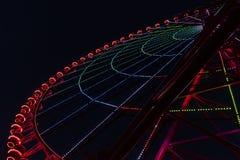 Света колеса Ferris Стоковые Изображения