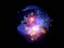 Света мира Стоковые Фото