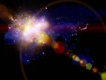 Света мира Стоковая Фотография RF