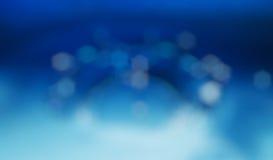 Света на голубой текстуре background Стоковая Фотография RF