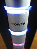 Света на приложении диска Стоковое фото RF