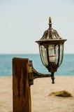 Света на пляже Стоковые Изображения