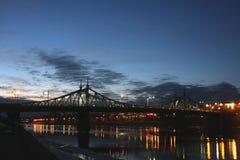 Света на реке Стоковые Фото