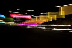 Света на nighttime Стоковые Фотографии RF