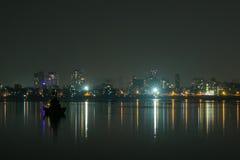 Света ночи Мумбая Стоковая Фотография