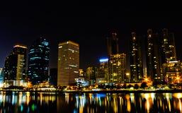 Света ночи Стоковая Фотография