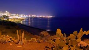 Света ночи Стоковое Изображение