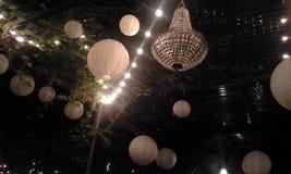 Света ночи Стоковое Изображение RF