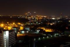 Света ночи Стоковое Фото