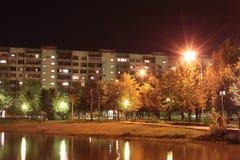 Света ночи Стоковая Фотография RF