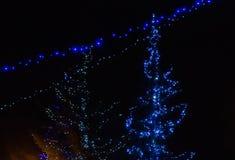 Света ночи стоковые фотографии rf