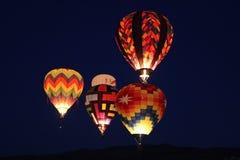 Света ночи Reno стоковая фотография
