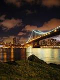 Света Нью-Йорка Стоковая Фотография RF