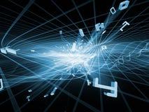 Света областей фрактали Стоковая Фотография RF