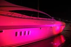 света пляжа светлые party на юг вверх по яхте Стоковое Изображение RF
