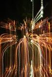 света покрашенные конспектом Стоковая Фотография