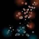 света предпосылки блестящие Стоковые Изображения RF