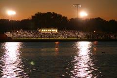 Света пятницы ночью Стоковая Фотография