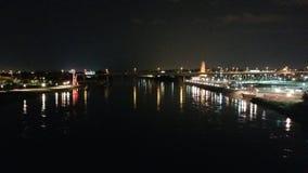 Света реки Стоковое Фото