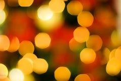 света рождества предпосылки Стоковая Фотография RF