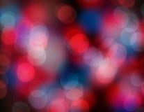 света рождества предпосылки Стоковые Изображения RF