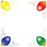света рождества угловойые Стоковые Фотографии RF