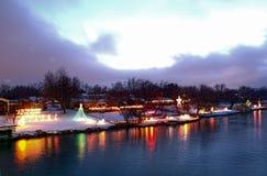 света рождества Стоковые Фото